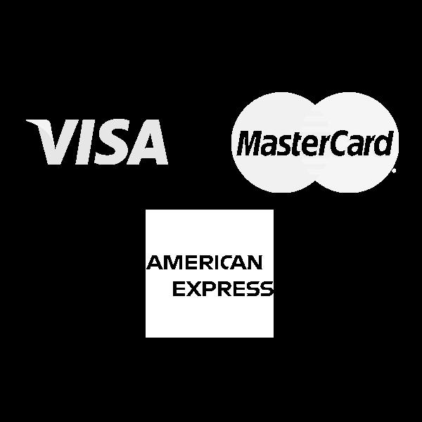 Visa, Mastercard & Amex